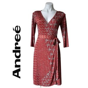 Andree Wrap Dress - Size Small